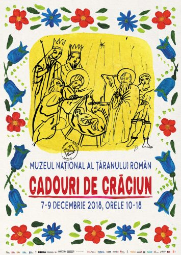 afis Cadouri de Craciun 355x500 Cadouri de Craciun   targ la Muzeul Taranului Roman