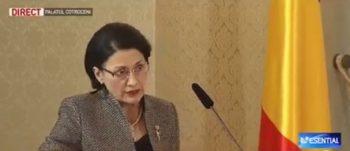 andronescu 350x151 Sapte ministri au depus juramantul la Cotroceni
