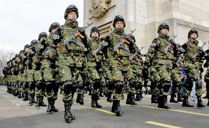 armata Romania in Centenarul Dezbinarii