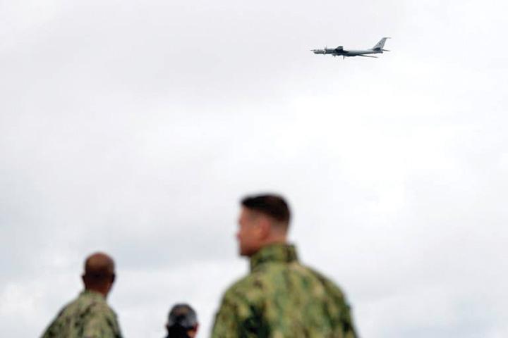 avion Putin provoaca NATO