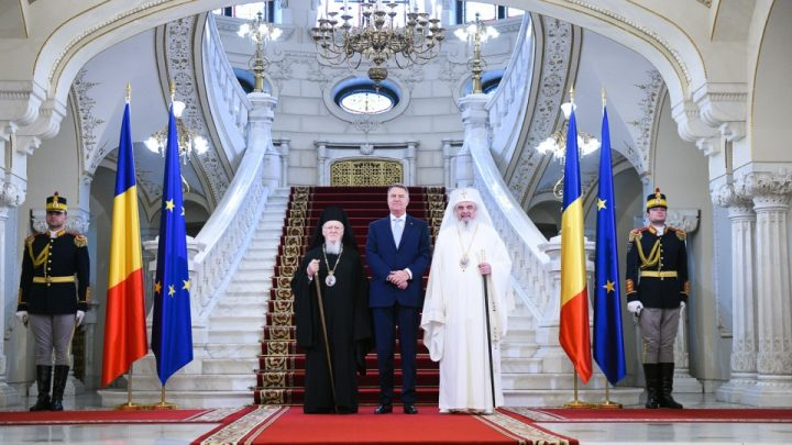 big 24 noiembrie 2018   palatul cotroceni 10 720x405 Patriarhul Bartolomeu si Patriarhul Daniel, la Cotroceni in ajunul sfintirii Catedralei Neamului