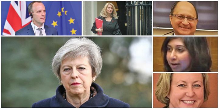 brexit mare 1 Ministrii au lasat o pe Theresa May cu Brexitul de gat