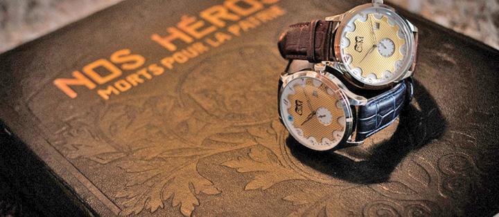 ceas mare Centenarul Armistitiului: ceasuri pentru Merkel, Macron si Trump