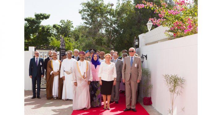 dancila ambasada 720x375 Dancila si cativa ministri din Guvern, la inaugurarea Ambasadei Romaniei de la Muscat