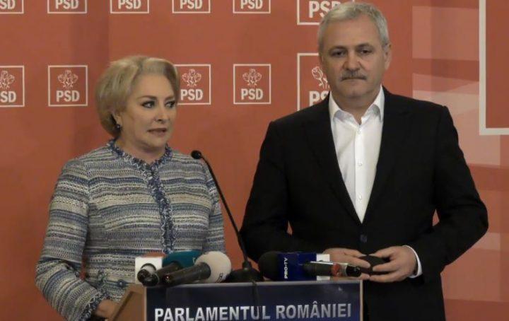 dancila dragnea 720x454 Replica premierului Dancila: Acest Guvern   ca ne place, ca nu ne place  va reprezenta Romania