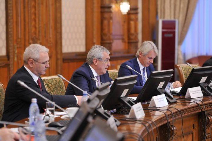dragnea tariceanu teodorovici 720x479 Sedinta la varful Coalitiei. Ministrul Finantelor, asteptat sa participe la discutii
