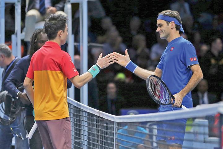 federer Federer, umilit in 89 de minute