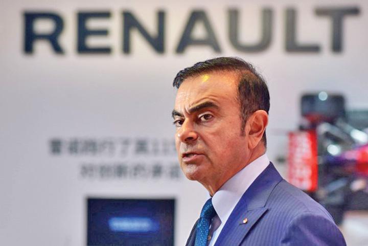 ghosn Cutremur la Renault!