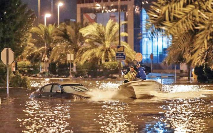 kuweit Kuweit suspenda zborurile din cauza inundatiilor