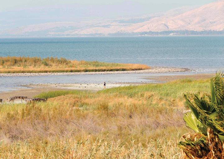 lac Marea pe care a mers Iisus va seca