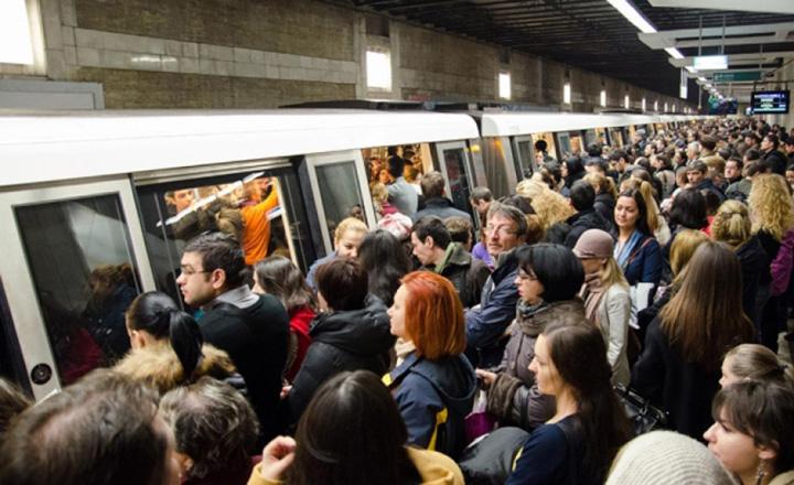 metrou 1 Bucurestenii nu scapa de greva de la Metrou
