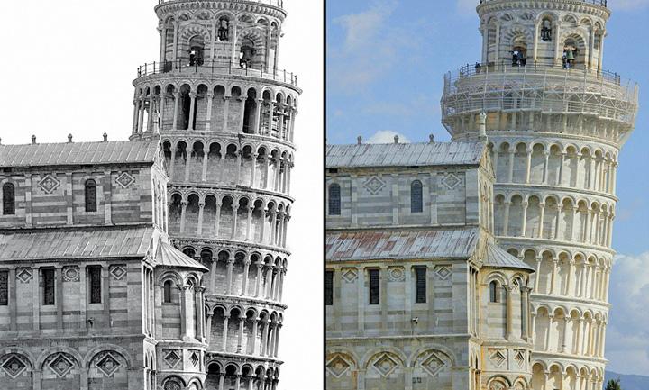 pisa Turnul din Pisa nu se mai inclina