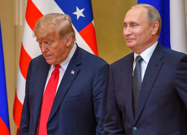 putin trump Trump fuge de Putin
