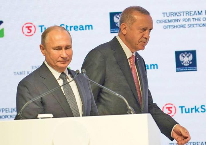 putin Putin si Erdogan au inaugurat Turkish Stream