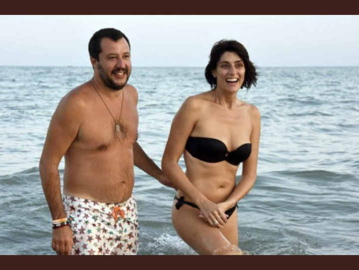 salvini 2 Matteo Salvini, parasit de iubita
