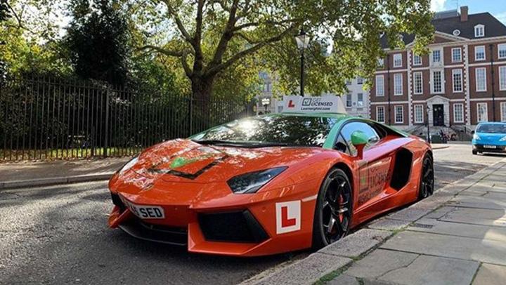 scoala 3 Masina scoala Lamborghini