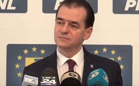 sef pnl Ludovic Orban cere demisia lui Tariceanu din fruntea Senatului