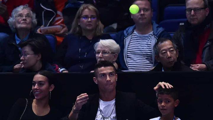 show 1 Djokovic, show la Londra, cu Ronaldo in tribune