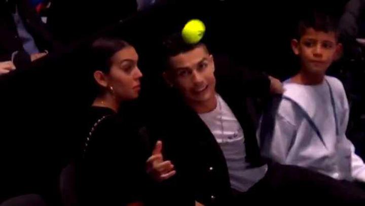 show 3 Djokovic, show la Londra, cu Ronaldo in tribune