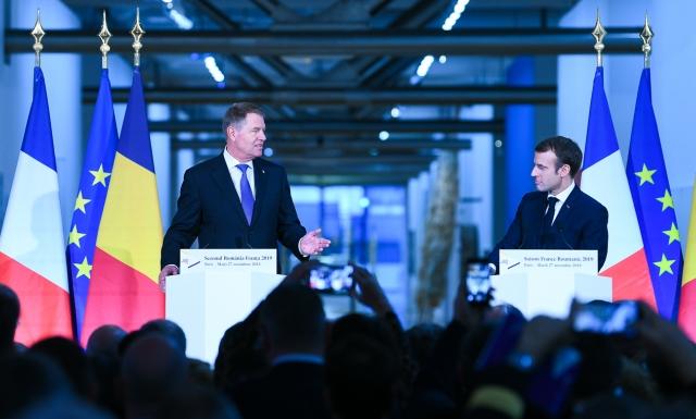 small paris   27 nov 2018 p2 26 Iohannis, la inaugurarea sezonului Romania – Franta: Promovand dialogul cultural, aparam o Europa a valorilor si a libertatii, in detrimentul urii si populismului