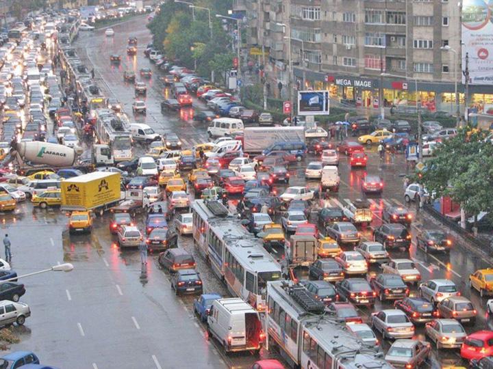 trafic Bucuresti, recorduri la blocajele in trafic