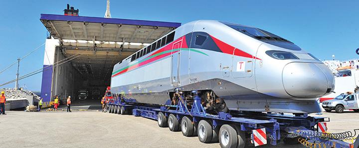 tren mare 1 Macron inaugureaza TGV ul Casablanca