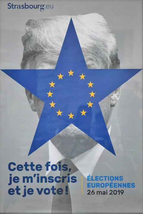 trump 1 Trump, afis pentru alegerile europene