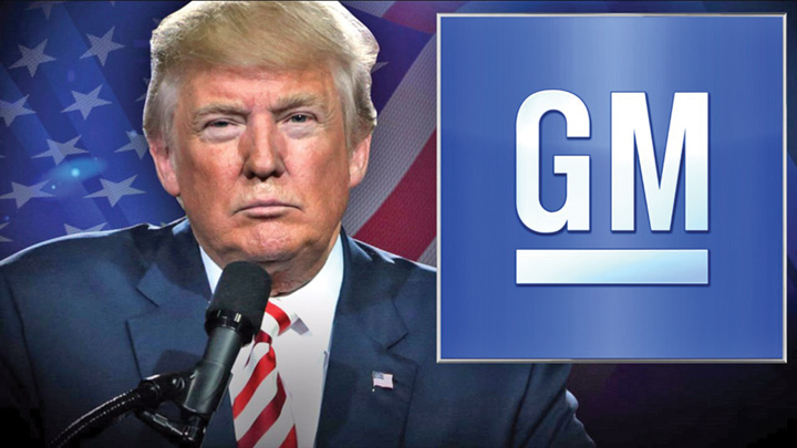 trump 3 Trump se razboieste cu General Motors