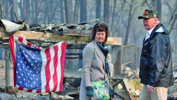 trump incendii Crematoriul California