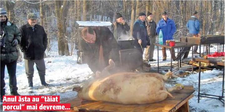 02 03 4 Iar au taiat porcul la K2, pe 3 decembrie!