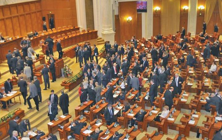 Parlament scandal Iohannis zapciul!