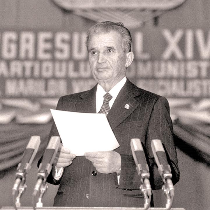 ceausescu Ceausescu, peste Regele Mihai