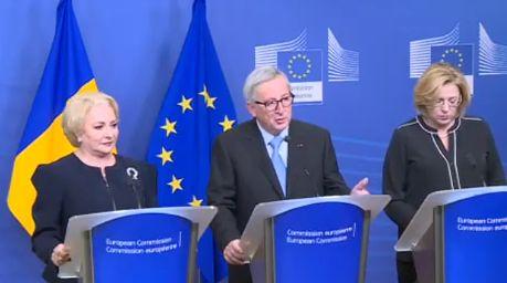 concluzii Juncker: am constatat ca Guvernul roman este bine pregatit pentru presedintia Consiliului UE