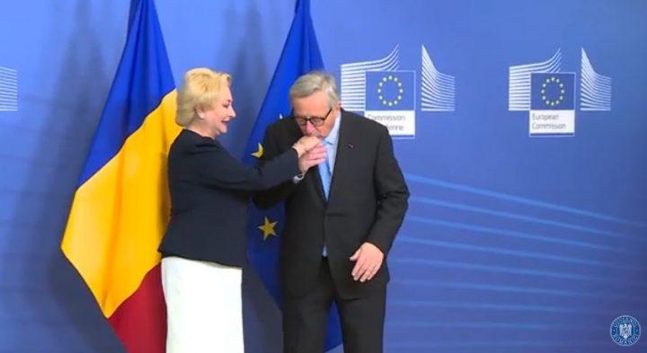 dancila juncker 720x393 Dancila s a intalnit cu Juncker la Bruxelles (VIDEO)
