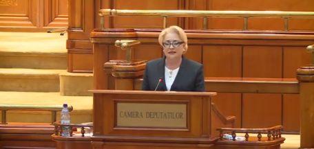 dancila parlament motiune Dancila, din Parlament: Textul motiunii, profund neserios