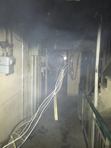 incendiu apartament 375x500 Un om a murit si alti cinci au ajuns la spital, in urma unui incendiu in Filiasi