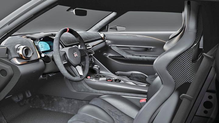 interior Supercar de 990.000 de euro de la Nissan