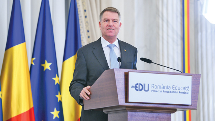 "iohannis 1 ""Romania educata"", vrajeala lui Iohannis in campanie"