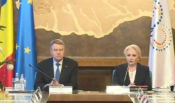 iohannis sedinta guvern 350x206 Iohannis anunta ca va refuza cele doua propuneri de ministri. Motivele, saptamana viitoare