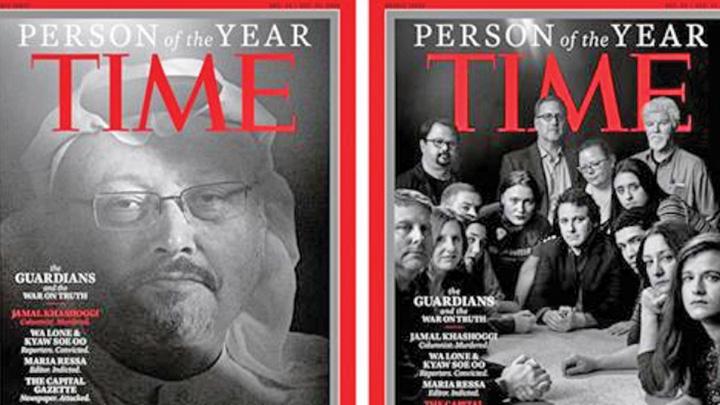 jurnalist Time: Jurnalistul ucis, personalitatea anului
