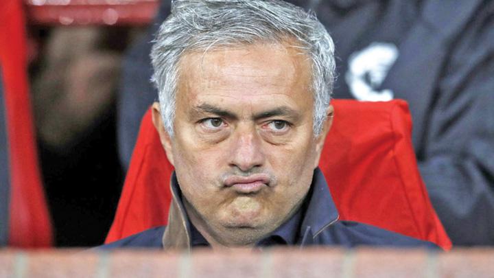 mourinho Mourinho, dat afara de la Manchester United