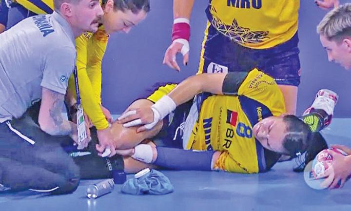 neagu 1 Romania, nevoita sa se descurce fara Cristina Neagu