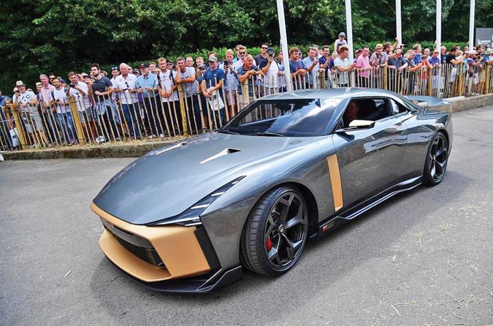 nissan mare Supercar de 990.000 de euro de la Nissan