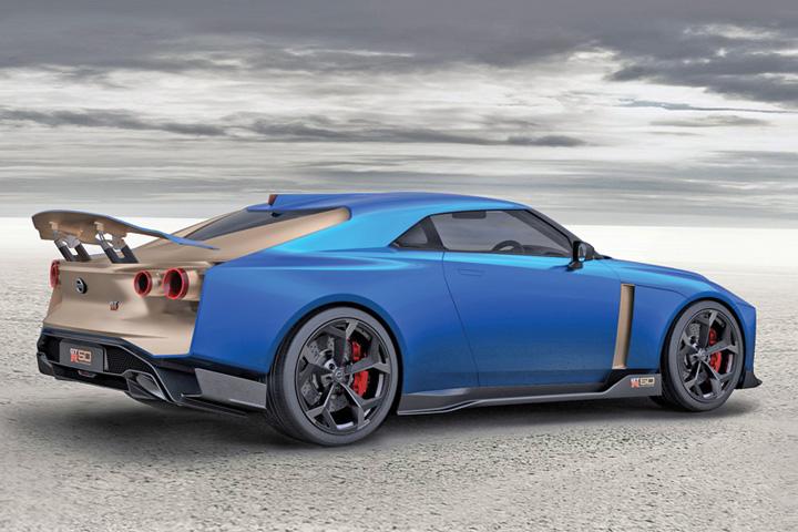 nissan Supercar de 990.000 de euro de la Nissan