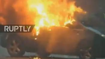 prot2 350x195 Incidente violente la protestul de sambata din capitala franceza. Cel putin 30 de raniti (VIDEO)