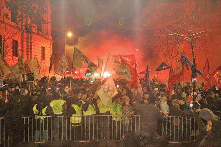 proteste 1 Ungurii sar la gatul lui Orban