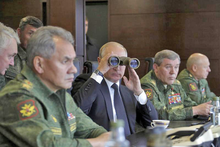putin 1 Relatiile NATO Rusia la sfarsit de an