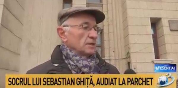 socru Socrul lui Sebastian Ghita, cu explicatii la Parchet dupa plangerea depusa de fostul deputat