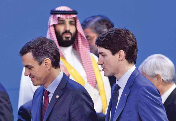 trudeau Trudeau vrea sa anuleze cel mai mare contract de arme cu sauditii