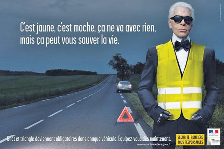 vesta1 Karl Lagerfeld, prima vesta galbena
